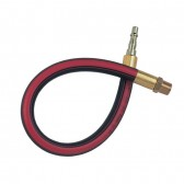 Bore Rubber-Tech Hose, Plug One End x Male Thread, BSPT