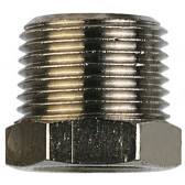 Nickel Plated Brass Male Thread to Female Thread Reducing Bush