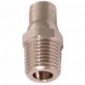 Male Stud BSPT Adaptor to Push-In Fitting