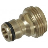 "Quick Release Brass Hose Plug with 3/4"" M Thread"