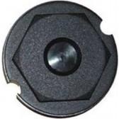 HS120 HUB CAP, BLACK