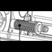 Metal 40 & 60 LIGHTWEIGHT HOSE REEL SPARES - Plumbing Inlet