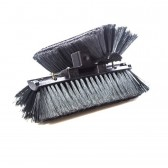 Sill Brush - Medium Single Trim FlockedBristles