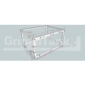 GrippaPRO 350 Flat Tank Frame