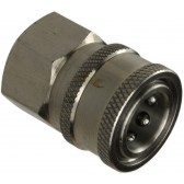 """MIDI STAINLESS STEEL QUICK RELEASE COUPLING 3/8"""" FEMALE"""