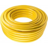 YELLOW TRICOFLEX 25mm LOW PRESSURE HOSE, 50m ROLL