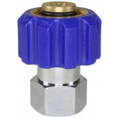 """COUPLING M22 F X 3/8""""F TO SUIT 15mm NOSE"""