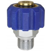 """COUPLING M22 F X 3/8"""" M TO SUIT 15mm NOSE"""