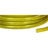 YELLOW BRAIDED 9mm LOW PRESSURE HOSE
